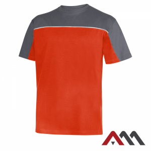 Koszulka t-shirt MOJAVE orange/grey